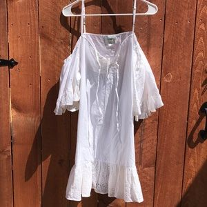 Romeo & Juliet Couture Swim - NWT Romeo & Juliet Couture Beach Cotton Dress B21